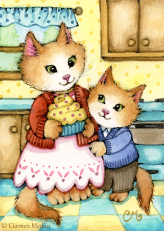 Made by Mama kitty ACEO