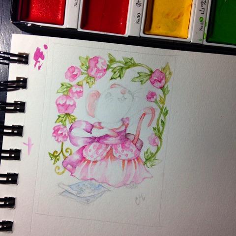 Work in progress art