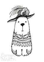 Fancy Hat Bear