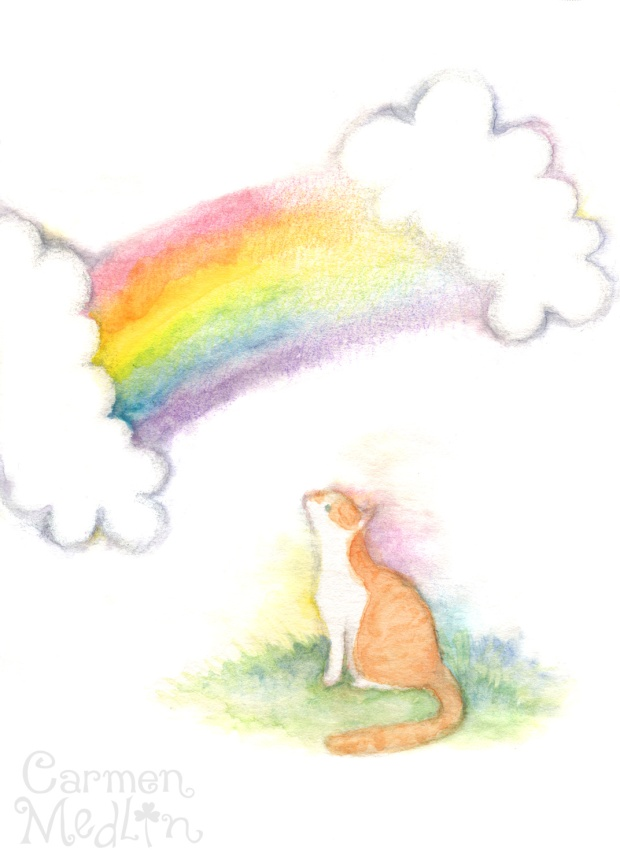 Rainbow Bridge Kitty